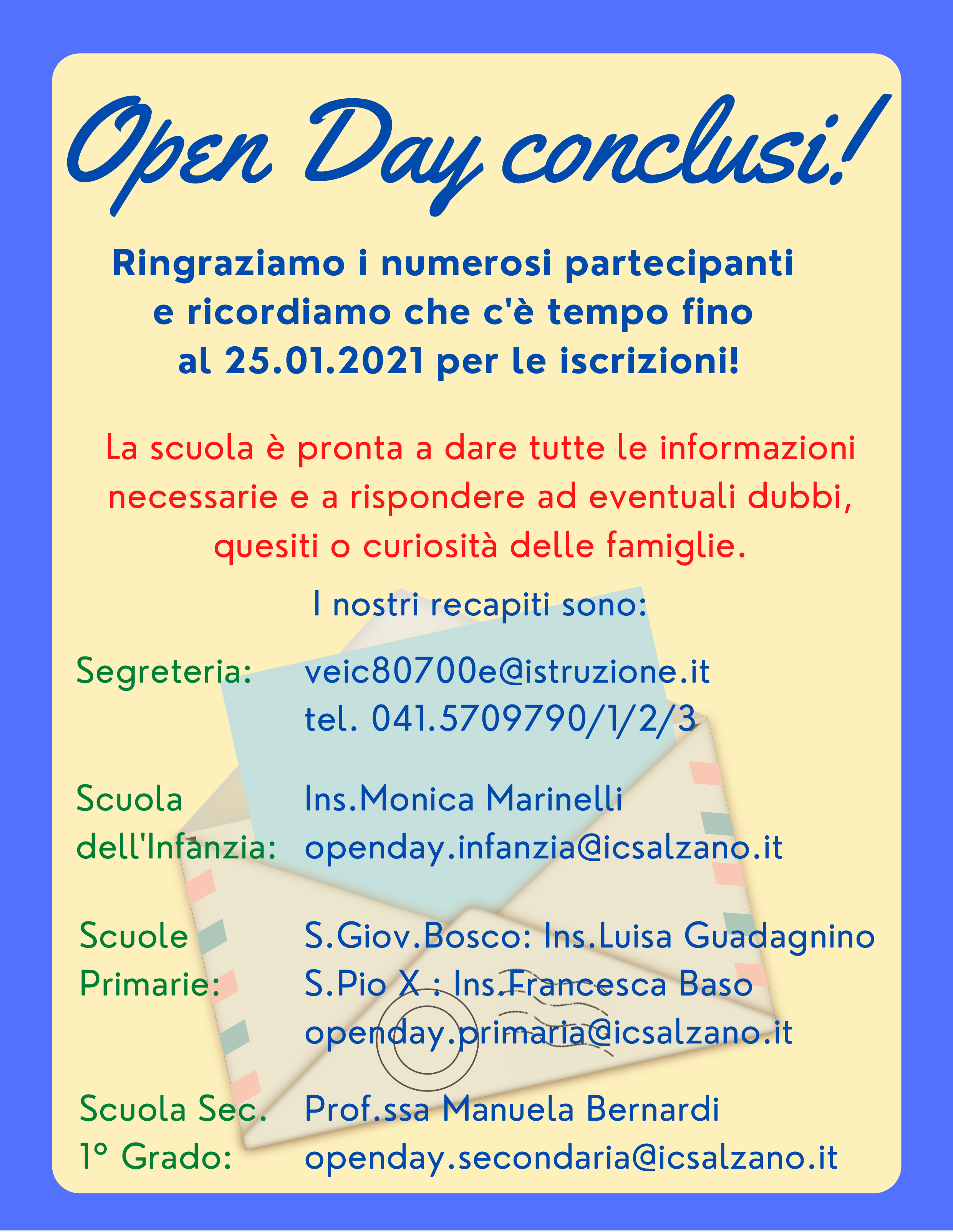 Open Day conclusi!